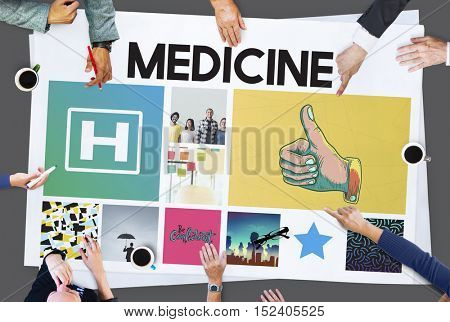 Hospital Healthcare Treatment Cure Concept