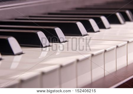 Piano Keys, Close-up