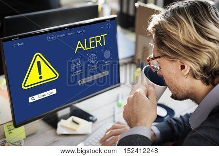 Alert Caution Risk Danger Attention Concept