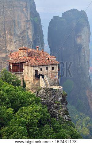 Monastery Roussanov, Meteora , Greece