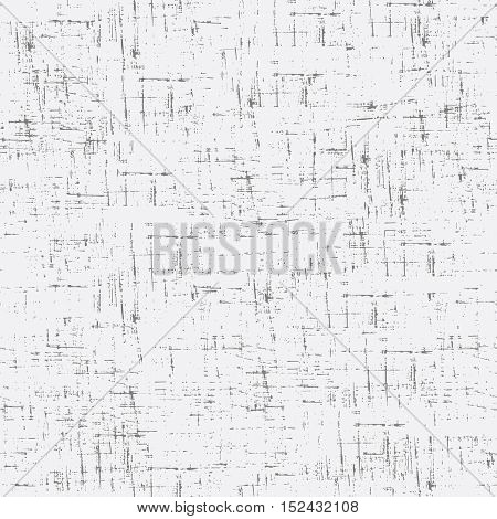 Imitation of old paper. Vector seamless pattern in gray color.