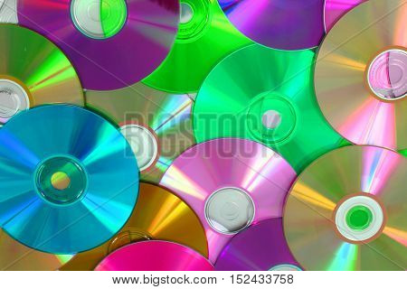 Cd And Dvd Background