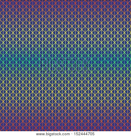 Vector illustration of a seamless repeating abstract pattern in the form of a grid