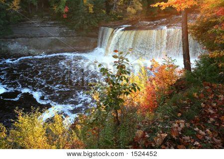 Upper Tahquamenon Water Falls