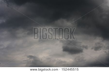 dark storm clouds before rain, nature background