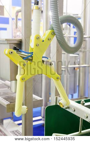 The image of an automatic welding machine