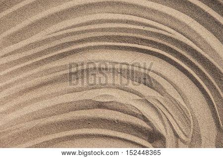Sand texture. Sandy beach for background.