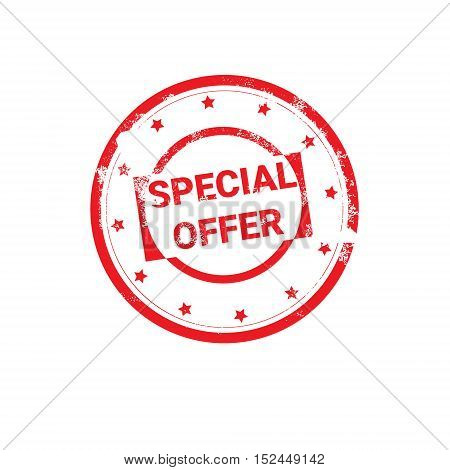 Special Offer Sale Discount Label Stamp Holiday Shopping Banner Vector Illustration