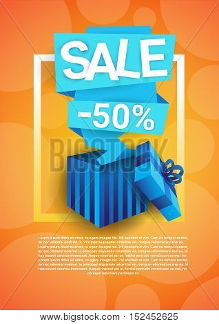 Black Friday Big Sale Holiday Shopping Banner Copy Space Vector Illustration