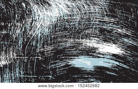 Dark vector colored abstract scratched background for web