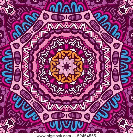 Tribal vintage ethnic grunge seamless pattern ornamental