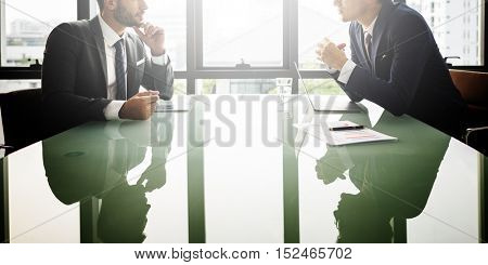 Career Decision Meeting Discussion Concept