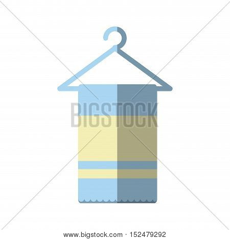 towel spa isolated icon vector illustration design