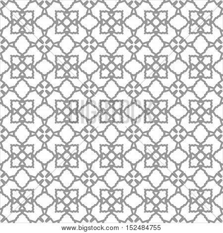 Seamless geometric repeating patterns. Grey and white texture for your design. Web page background. Monochrome geometric ornaments. Vector seamless eps 10