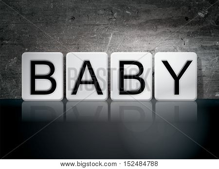 Baby Tiled Letters Concept And Theme