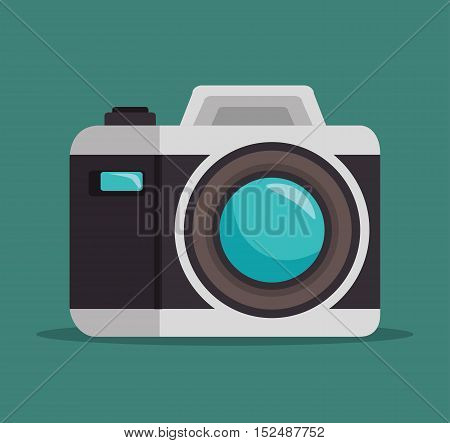 photo camera lens design, vector illustration graphic