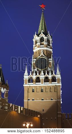 Moscow Red Square night walk city cityscape