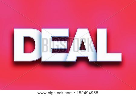 Deal Concept Colorful Word Art