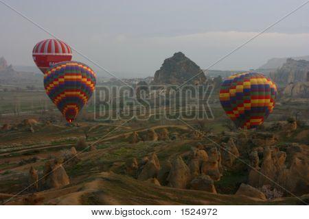Ballooning In Cappadocia - Turkey