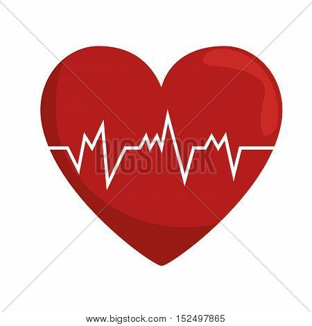 heart rate pulse concept healthy vector illustration eps 10