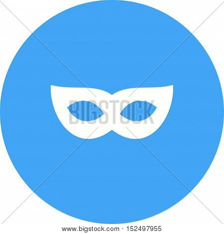 Mask, eye, face icon vector image. Can also be used for birthday. Suitable for use on web apps, mobile apps and print media.