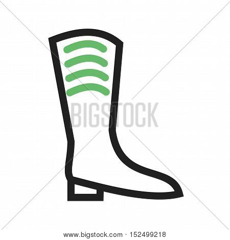 Boot, warm, water icon vector image. Can also be used for spring Suitable for use on web apps, mobile apps and print media.