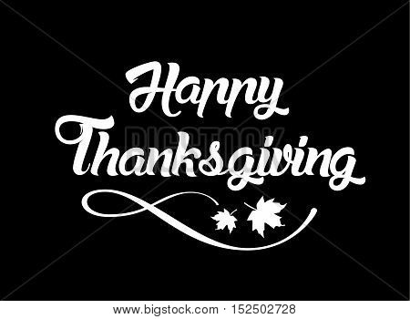 Thanksgiving Greeting Card With