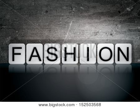 Fashion Tiled Letters Concept And Theme