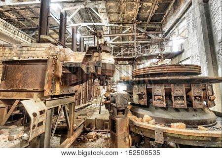 Been abandoned for years waiting for the demolition of the old factory