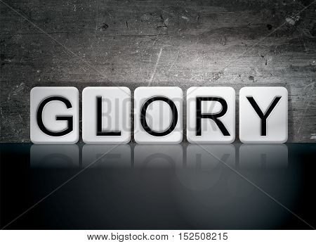 Glory Tiled Letters Concept And Theme