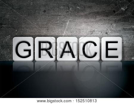 Grace Tiled Letters Concept And Theme