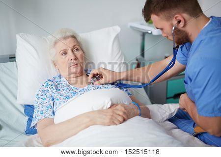 Treatment of senior patient