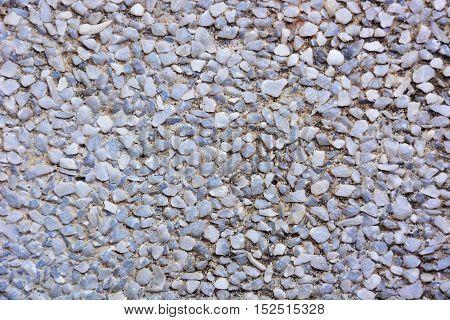 small gray gravel texture random pattern ,ground flood