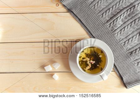 Tea With Sugar Refined Cup