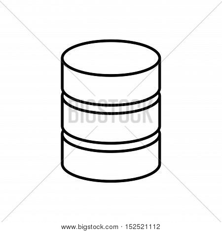 disk data storage isolated icon vector illustration design