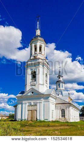 Peter and Paul Church in the village Petrovskoye. Kirov region. Russia