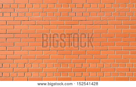 A fragment of red brick walls in the background