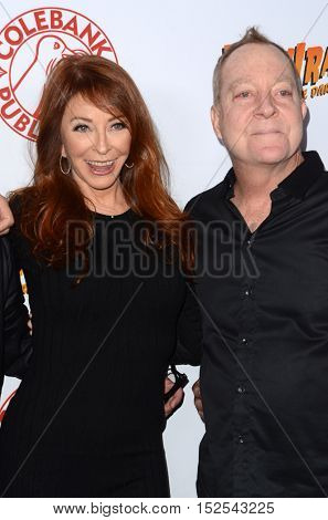 LOS ANGELES - OCT 17:  Cassandra Peterson, Fred Schneider at the