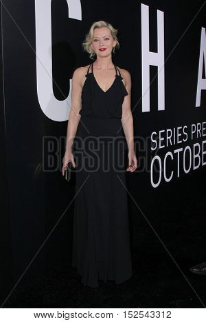 LOS ANGELES - OCT 17:  Gretchen Mol at the Hulu Chance Premiere at Harmony Gold Theater on October 17, 2016 in Los Angeles, CA