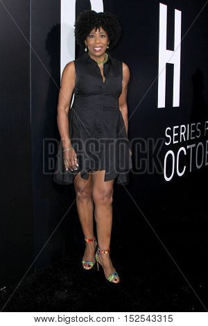 LOS ANGELES - OCT 17:  Dawnn Lewis at the Hulu Chance Premiere at Harmony Gold Theater on October 17, 2016 in Los Angeles, CA