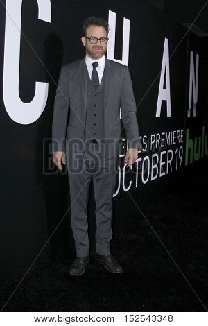 LOS ANGELES - OCT 17:  Paul Adelstein at the Hulu Chance Premiere at Harmony Gold Theater on October 17, 2016 in Los Angeles, CA