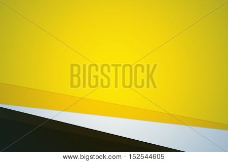 yellow color abstract multiply shape layer background