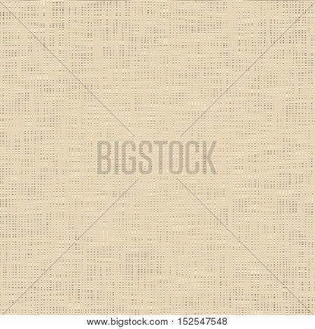 Abstract canvas texture. Imitation of natural fabric