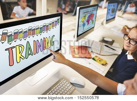 Training Education School Learning Study Concept