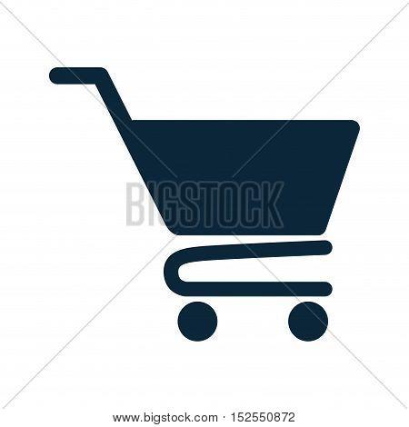 shopping cart market isolated icon vector illustration design