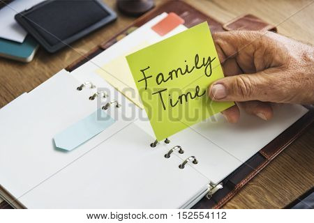 Family Parents Related Sibling Offspring Group Concept