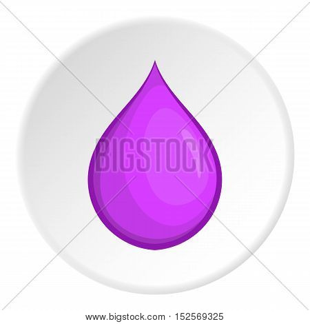 Dropicon. Cartoon illustration of drop vector icon for web