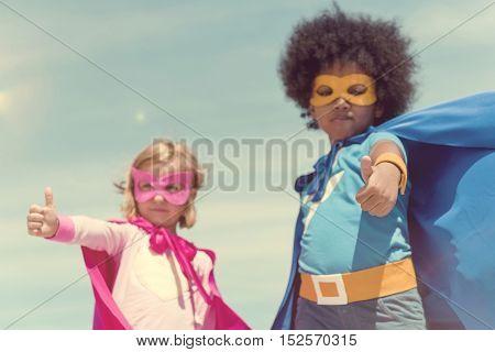 Kids Playing Enjoying Having Fun Concept