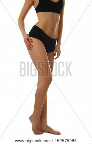 Sexy Body Of A Beautiful Woman. Beautiful Woman Body. Perfect Sh