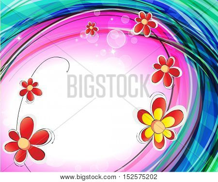 Abstract background for your design. Vector illustration